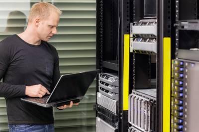 Denver IT Support Technician At Work